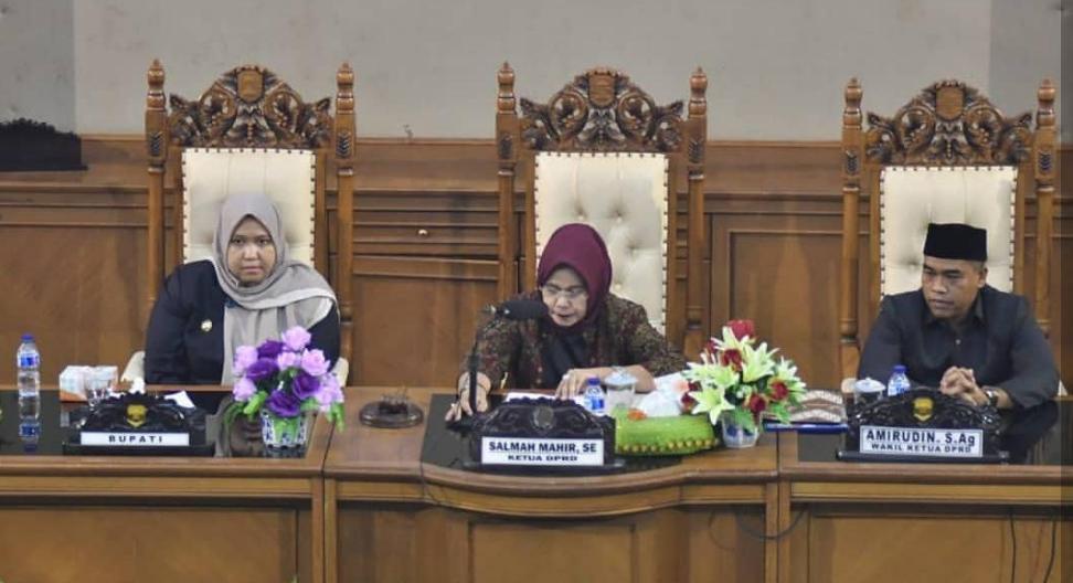 Permalink ke Ketua DPRD Muarojambi Salmah Mahir Pimpin Paripurna Pengesahan 19 Perda
