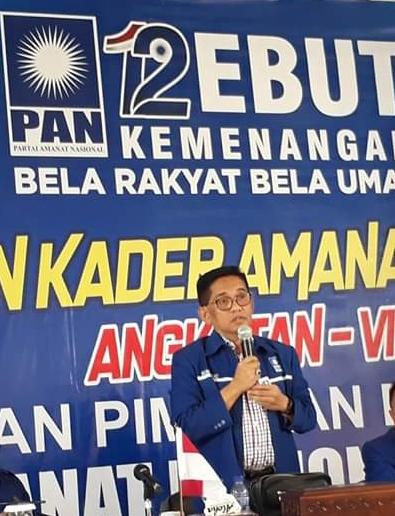 Permalink ke PAN Ukir Prestasi di Pileg, Pilkada 2020 H. Bakri Kembali Tantang Kader Parpol Ikut Berkompetisi