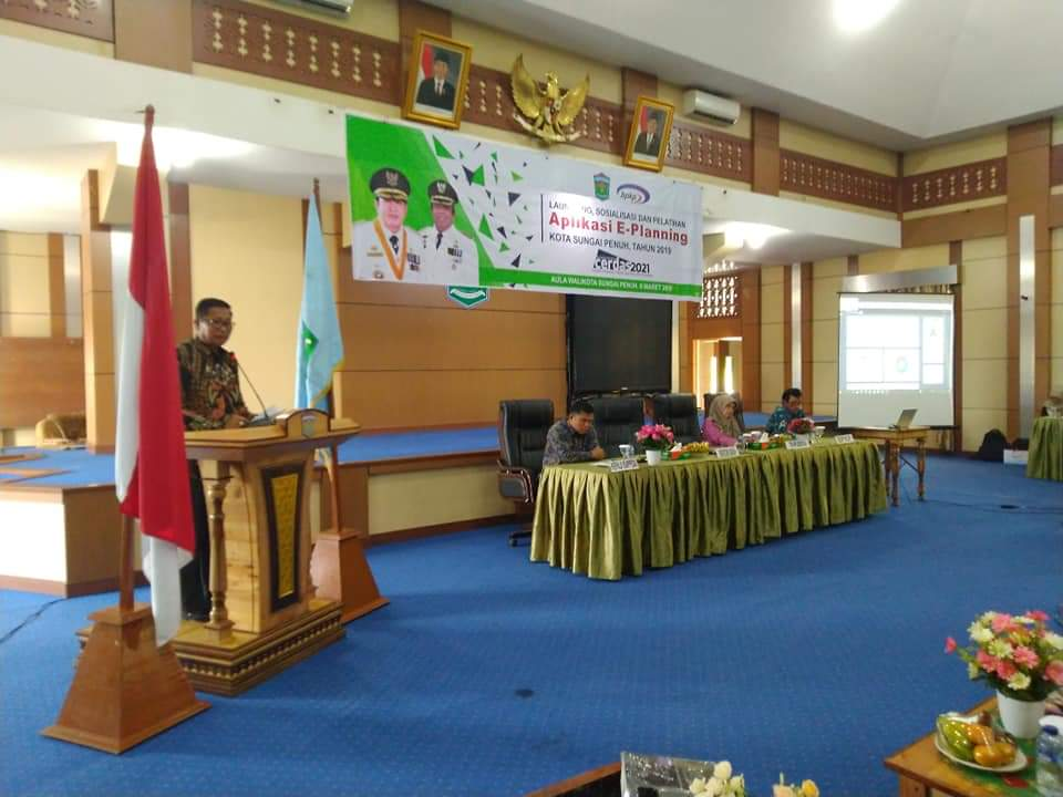 Permalink ke Pemkot Sungaipenuh- BPKP Launching SIMDA Perencanaan