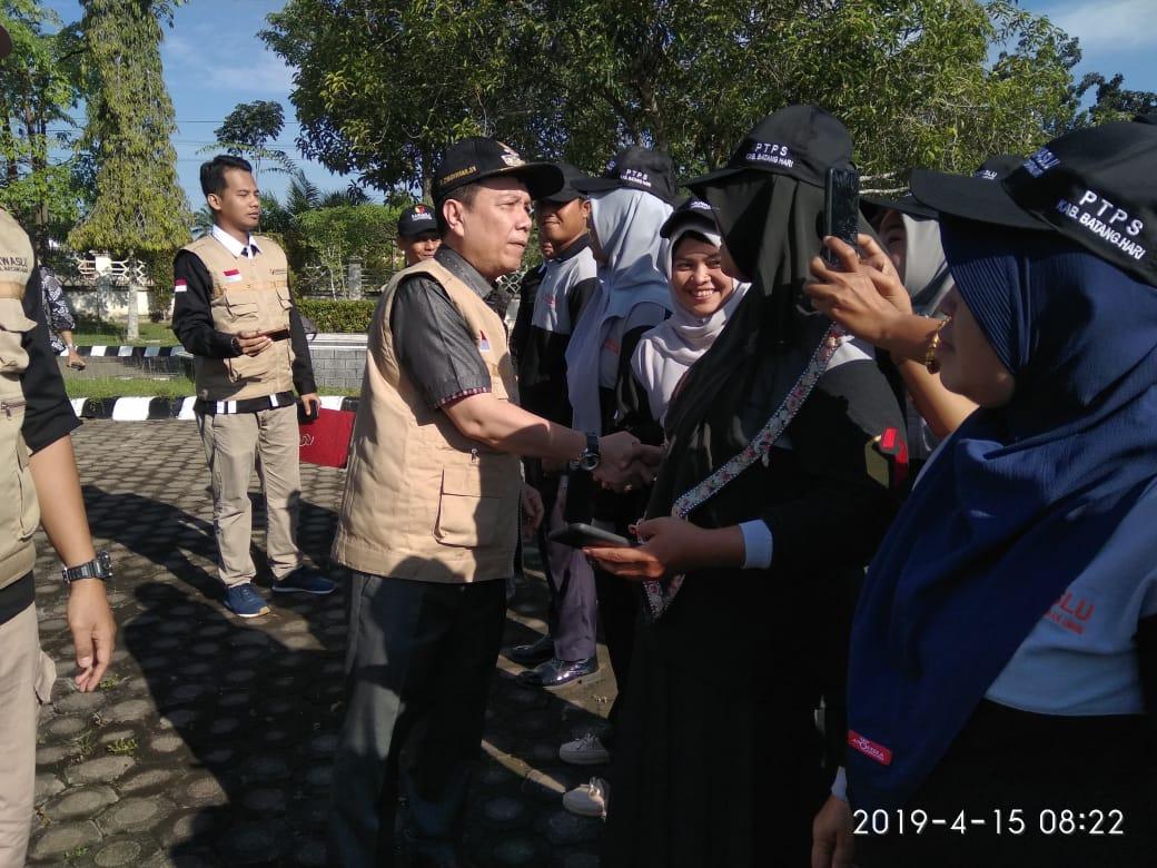 Permalink ke Hadapi Pemilu 2019 di Batanghari Ditandai Apel Siaga Bersama