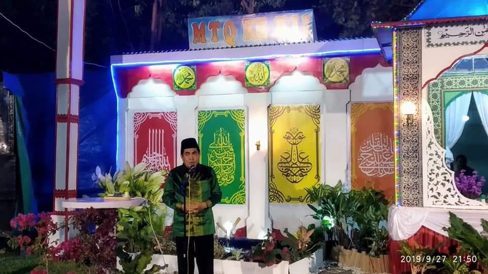 Permalink ke Wako AJB Buka MTQ ke XII Kecamatan Hamparan Rawang