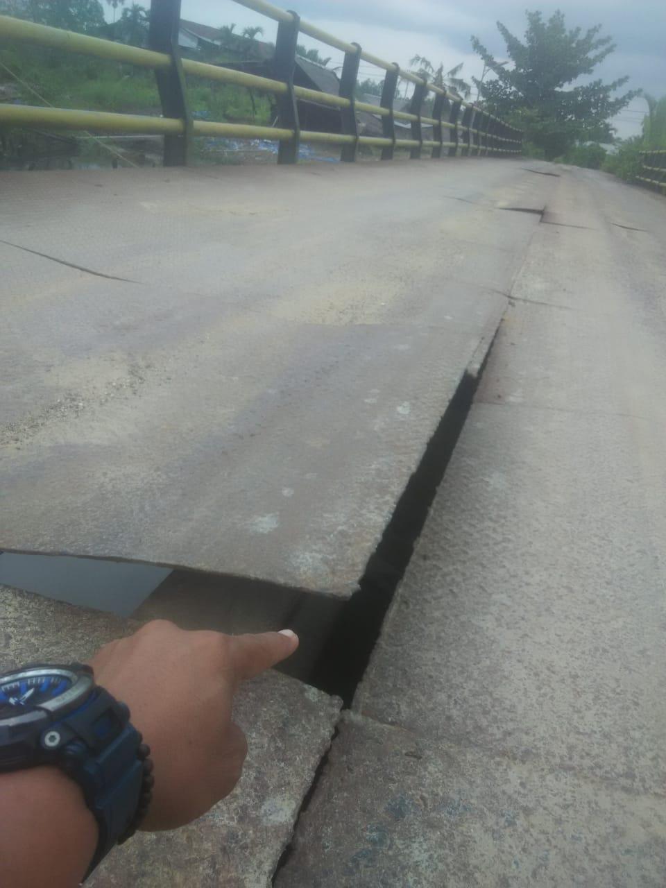 Permalink ke Kondisi Alas Jembatan Harmoko Kembali rusak