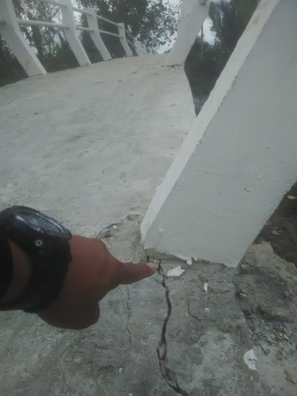 Permalink ke Plt. Kadis Perkim Tanjab Barat Sebut Jembatan yang Rusak Sudah Disampaikan Kepihak Rekanan