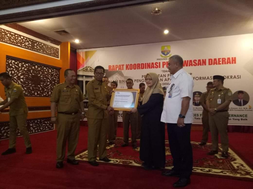 Permalink ke Audit Berintegritas dan Patuhi UU, Pemkot Sungai Penuh Raih Penghargaan dari BPKP RI