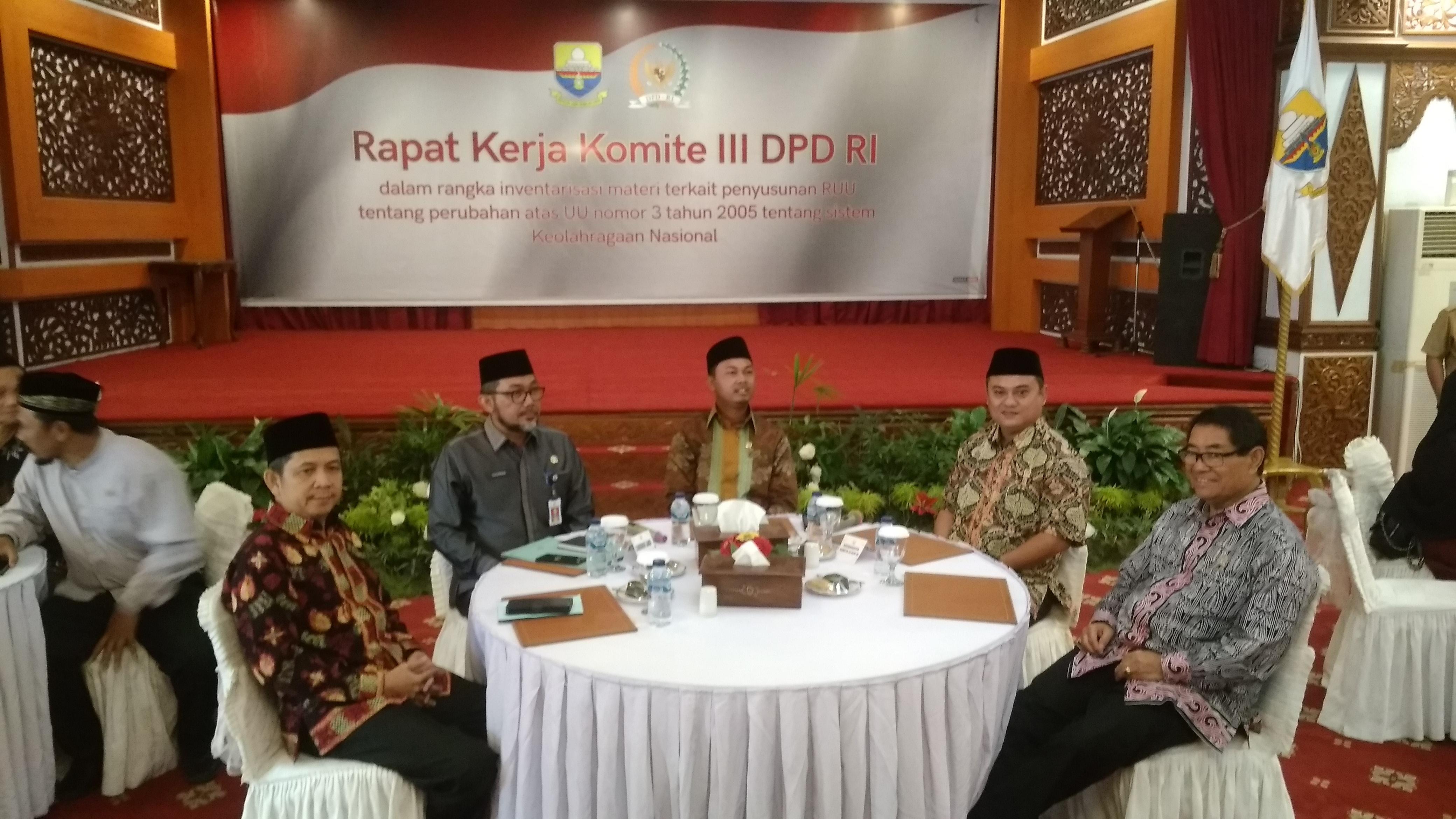 Permalink ke Rombongan Kunker Komite III DPD RI Disambut Baik oleh Pemprov Jambi