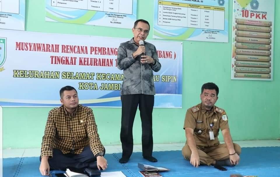 Permalink ke Pimpinan dan Anggota DPRD Kota Jambi Perjelas Tahapan Pembangunan Kepada Masyarakat