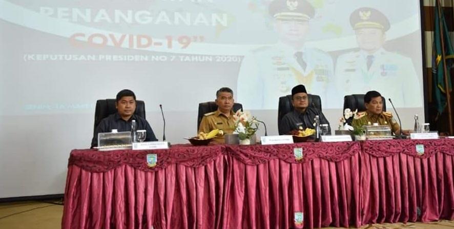 Permalink ke Pimpinan DPRD Kota Jambi Hadiri Rapat Lintas Sektoral Gugus Tugas Penanganan Covid-19 di Kota Jambi