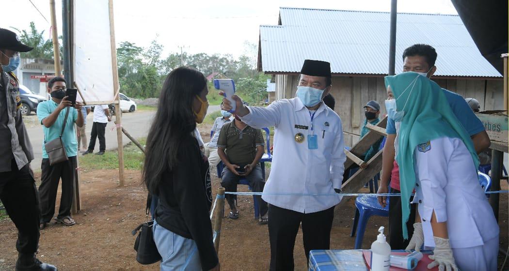 Permalink ke Bupati Al Haris Pantau Posko Covid-19 Kecamatan dan Desa