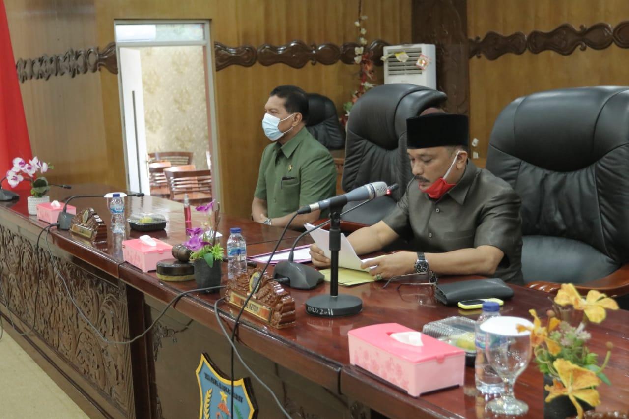 Permalink ke Rapat Paripurna Internal Penyampaian Nota Pengantar Usulan RAPERDA, Dewan Sampaikan 4 Usulan