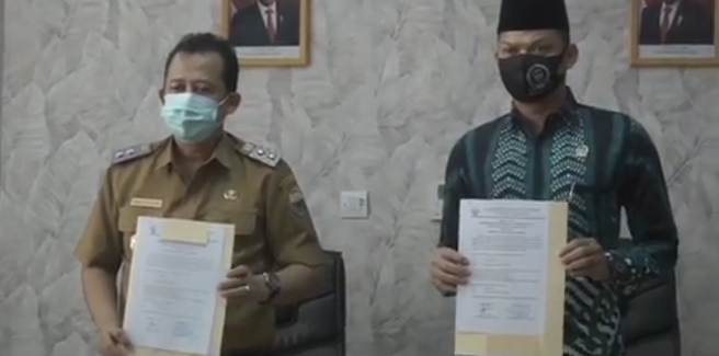 Permalink ke Wabup BBSTerima Laporan Hasil Pemeriksaan Keuangan dari BPK RI via Vidcon, Pemkab Muaro Jambi Enam Kali dapat WTP