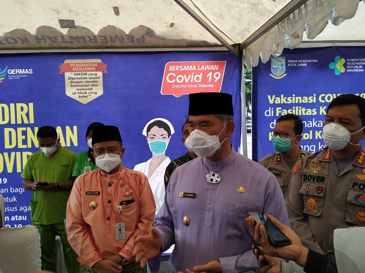 Permalink ke Pemkot Jambi Launching Penyuntikan Vaksin Sinovac