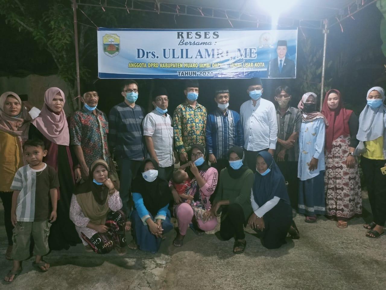 Permalink ke Gelar Reses di Desa Mendalo Indah, Ulil Amri : Saya Siap Perjuangkan Aspirasi Masyarakat Mendalo