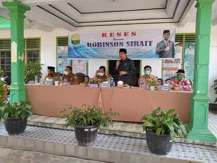 Permalink ke Robinson Sirait Anggota DPRD Fraksi PAN Reses di Desa Suka Mamur, Usulan Kenaikan Gaji BPD dan Infrastruktur Jalan Mendominasi