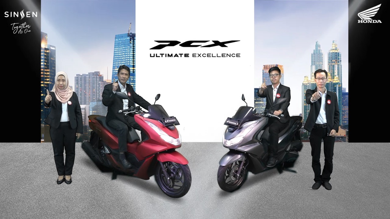 Permalink ke Sinsen Kembali Luncurkan All New Honda PCX dengan Performa Tinggi dan Kemewahan Generasi Terbaru