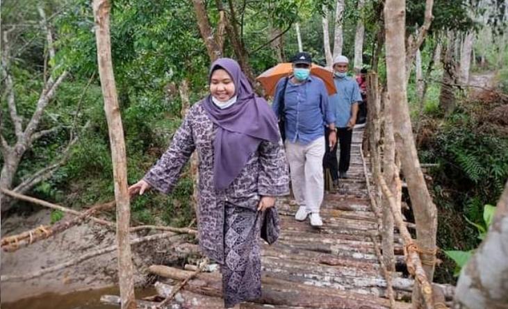 Permalink ke Seriusi Pengembangan Objek Wisata Alam, Bupati Masnah Cek Kawasan Sungai Napal