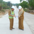 Permalink ke Didampingi Kadis PUPR Muarojambi, Bupati Masnah Tinjau Pembangunan Jalan Rijid Beton Sungai Gelam