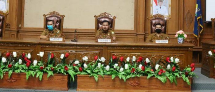 DPRD Muaro Jambi akan Menggelar Paripurna, Sekretariat Dewan Siapkan Ruangan Standar Protokol Kesehatan