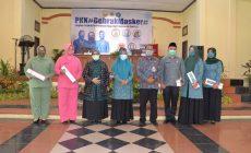 Permalink ke Rahima Ajak PKK Tak Bosan Kampanyekan Penggunaan Masker