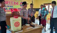 Permalink ke Bakar Rumput Dikebun Miliknya, Petani di Tanjabtim Ditangkap Polisi