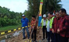 Permalink ke Program Aspirasi H. Bakri Bergulir, Desa Tarikan Dapat Jembatan Gantung