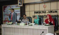 Permalink ke Diskusi Publik Kolaborasi International Law Departement, Faculty of Law UNJA, dan 42 Universitas se-Indonesia Kupas Makna Kata Persekusi