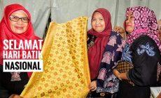 Permalink ke Sukseskan Hari Batik Nasional, Bupati Masnah Pamerkan Batik