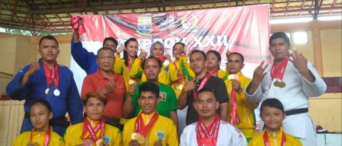 Judo Kota Jambi Juara Umum Porprov ke-XXII