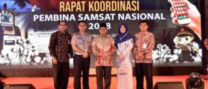Fachrori Tanda Teken MoU dan PKS Samsat Online Nasional