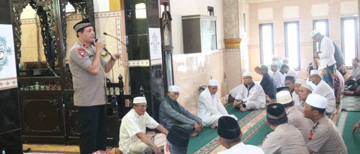 Ini Pesan Wakapolda Jambi Saat Jumling di Masjid Nurul Hikmah