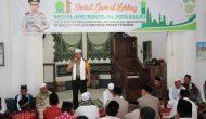 Permalink ke Kapolda Jambi Jumling di Mesjid Baiturrahim Desa Pasar Terusan, Ini Pesannya