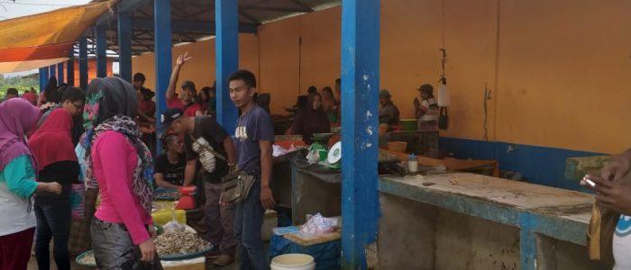 Pedagang di Pasar Pacul I Keluhkan Air Bersih
