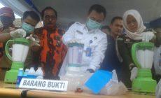 Permalink ke BNNP Jambi Musnahkan Barang Bukti Shabu