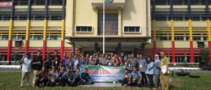 Jajaran Humas Pemprov Jambi Bersama Puluhan Wartawan Kunjungi Humas Pemprov Sumatera Barat