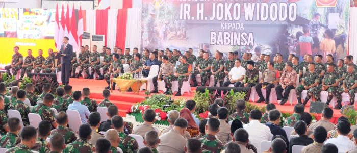 3.316 BABINSA SE-SUMATERA TERIMA ARAHAN PRESIDEN JOKO WIDODO DI JAMBI