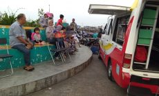 Permalink ke Tumbuhkan Minat Baca, Mobil Perpustakaan Keliling Kunjungi WFC