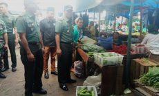 Permalink ke Danrem 042/GapuLakukan Komsos Dengan pedagang Pasar Tradisional Angso Duo