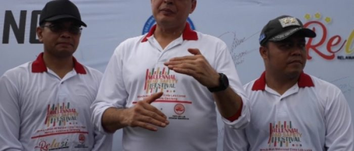 Millenial Road Safety Festival Polres Tanjabtim Meriah