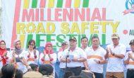 Permalink ke Ribuan Masyarakat Ramaikan Milenial Road Safety Festival, Safrial Ajak Milenial jadi Pelopor Keselamatan