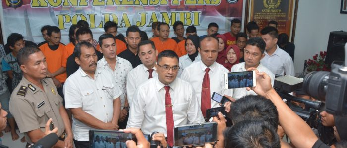 Ditresnarkoba Polda Jambi Jaring 27 Orang Selama Operasi Antik