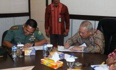 Permalink ke Bupati Tanjab Barat Tandatangani MoU Karya Bhakti TNI 2019