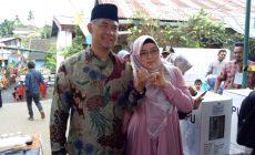 Permalink ke Gunakan Hak Pilihnya, Walikota Fasha Bersama Istri Nyoblos di TPS 13