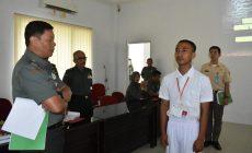 Permalink ke Warga SAD Rakel Mahessuara Putra dinyatakan LULUS Catam TNI AD
