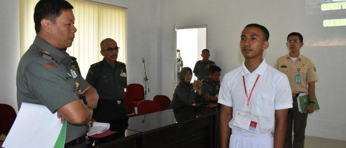 Warga SAD Rakel Mahessuara Putra dinyatakan LULUS Catam TNI AD