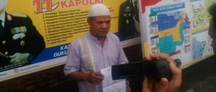 Wakil Walikota Sungaipenuh Dipolisikan