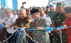 Permalink ke Bupati Safrial Resmikan Lintas Penyebrangan KMP Satria Pratama Kuala Tungkal – Batam