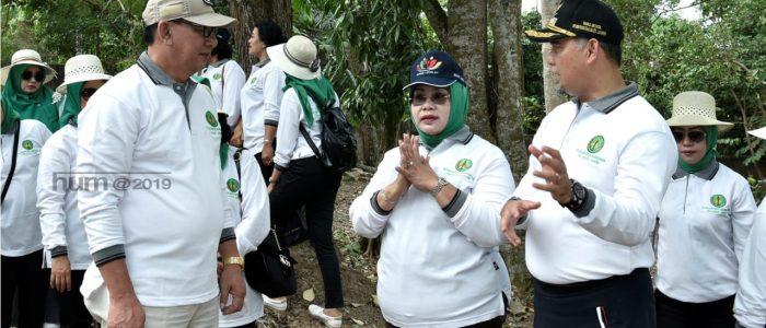 Kegiatan Penanaman Pohon Dalam Rangka Hari Bhakti Adhyaksa ke 59, Ini Harapan Walikota Jambi Syarif Fasha