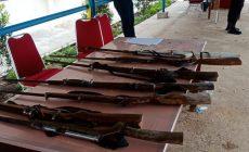 Permalink ke Anggota TNI-Polri Temukan 9 Pucuk Kecepek Dipemukiman Bekas SMB