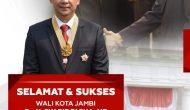 Permalink ke Wali Kota Jambi Syarif Fasha, Dianugerahi Bintang Jasa Pratama dari Presiden RI Joko Widodo