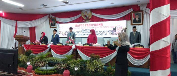 Bupati Batanghari Ukut Dengarkan Pidato Kenegaraan Republik Indonesia