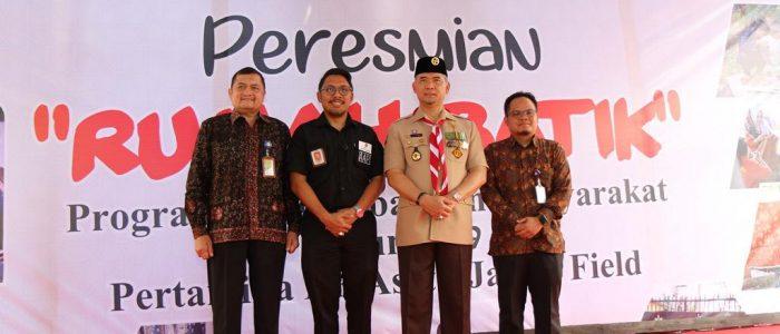 Bersama Wali Kota Jambi, Pertamina EP Resmikan Rumah Batik di Kawasan Danau Sipin